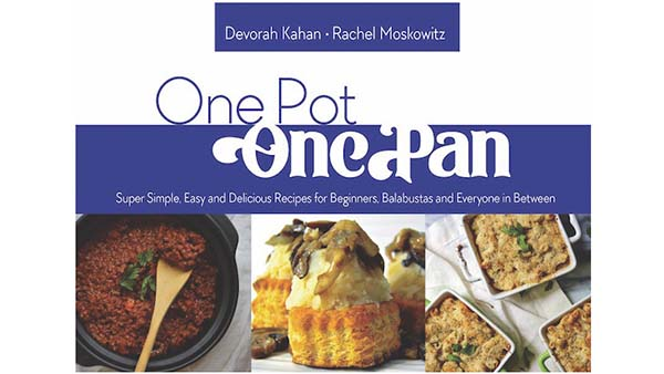 New Cookbook Provides Delicious Meals Quickly and Easily with One Pot, One Pan